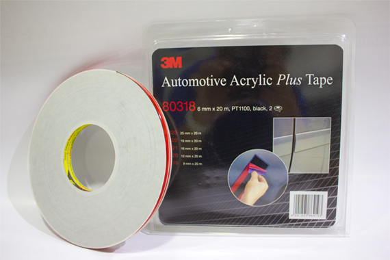80318 6mm X 20 m 3M Automotive Acrylic Plus Tape PT1100