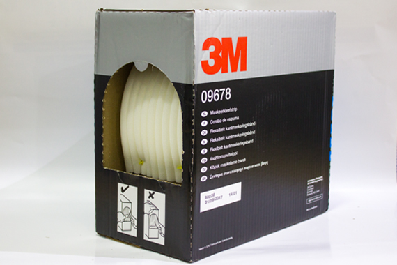 09678 13 mm  3M Soft Edge Masking Foam Tape
