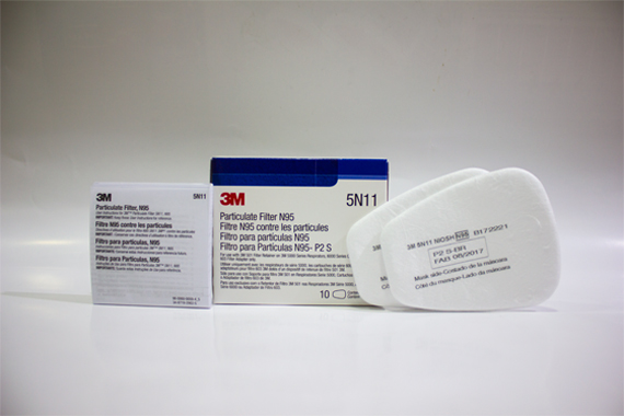 3m mask particulate filter