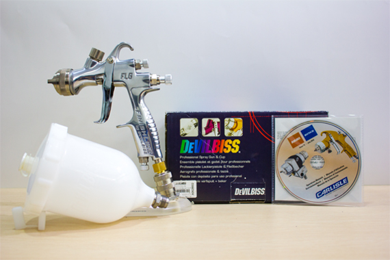 FLG-G5-14 Devilbiss Gravity Feed Spray Gun