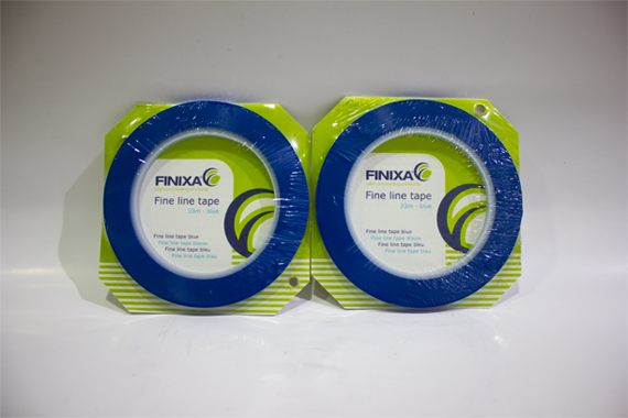 FOL-306 6 mm x 33 mm Finixa Fine Line Tape Blue