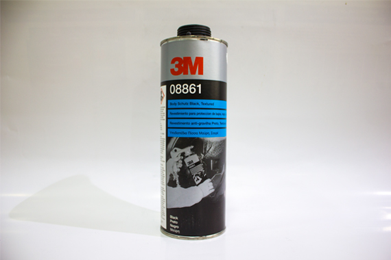 08861 1 Liter 3M Schutz Underbody Coating Paint Underseal One Coat Black Flexible