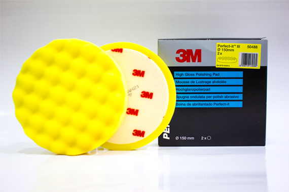 50488 150 mm 3M Perfect-It™ III Polishing Pad Yellow